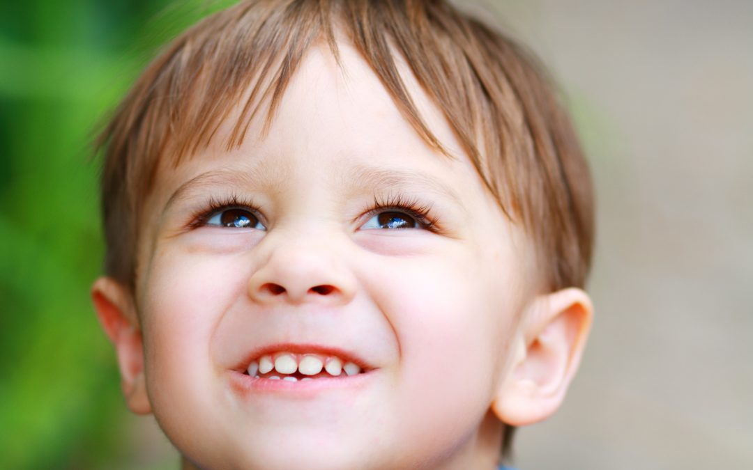 Surfacing of New Teeth in Children